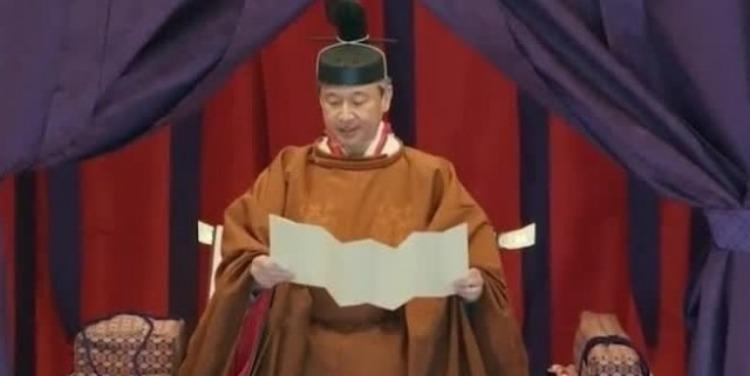 140秒看完日本天皇德仁即位大典:两大神器再亮相