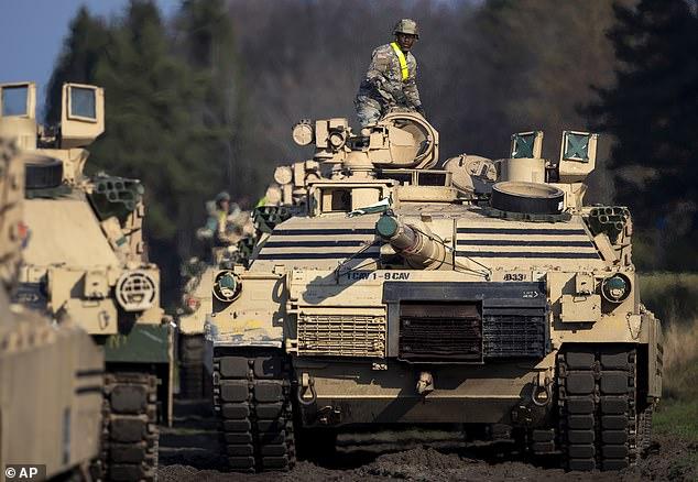 又不撤了?美国或将首次在叙利亚部署坦克:保护油田