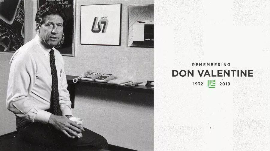 红杉资本创始人唐·瓦伦丁去世 曾投资苹果和谷歌-Gamewower