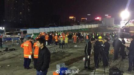 突发!贵阳工地疑似坍塌 导致8人遇难2人受伤