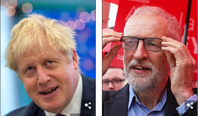"""为推动尽快脱欧 英国首相喊话在野党领袖""""男人一点"""""""