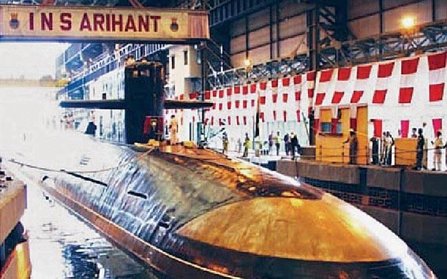 印度将试射国产新型潜射弹道导弹 能搭载核弹头