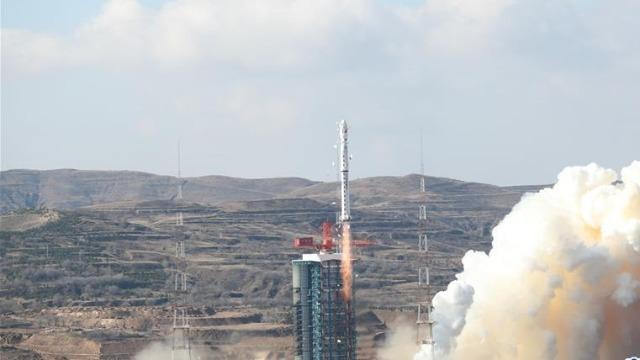 大陆高分七号卫星升空 台媒:台湾将被3D立体拍摄
