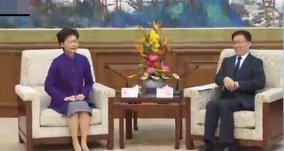 凤凰专报|韩正会见林郑月娥:中央坚定支持港府止暴制乱