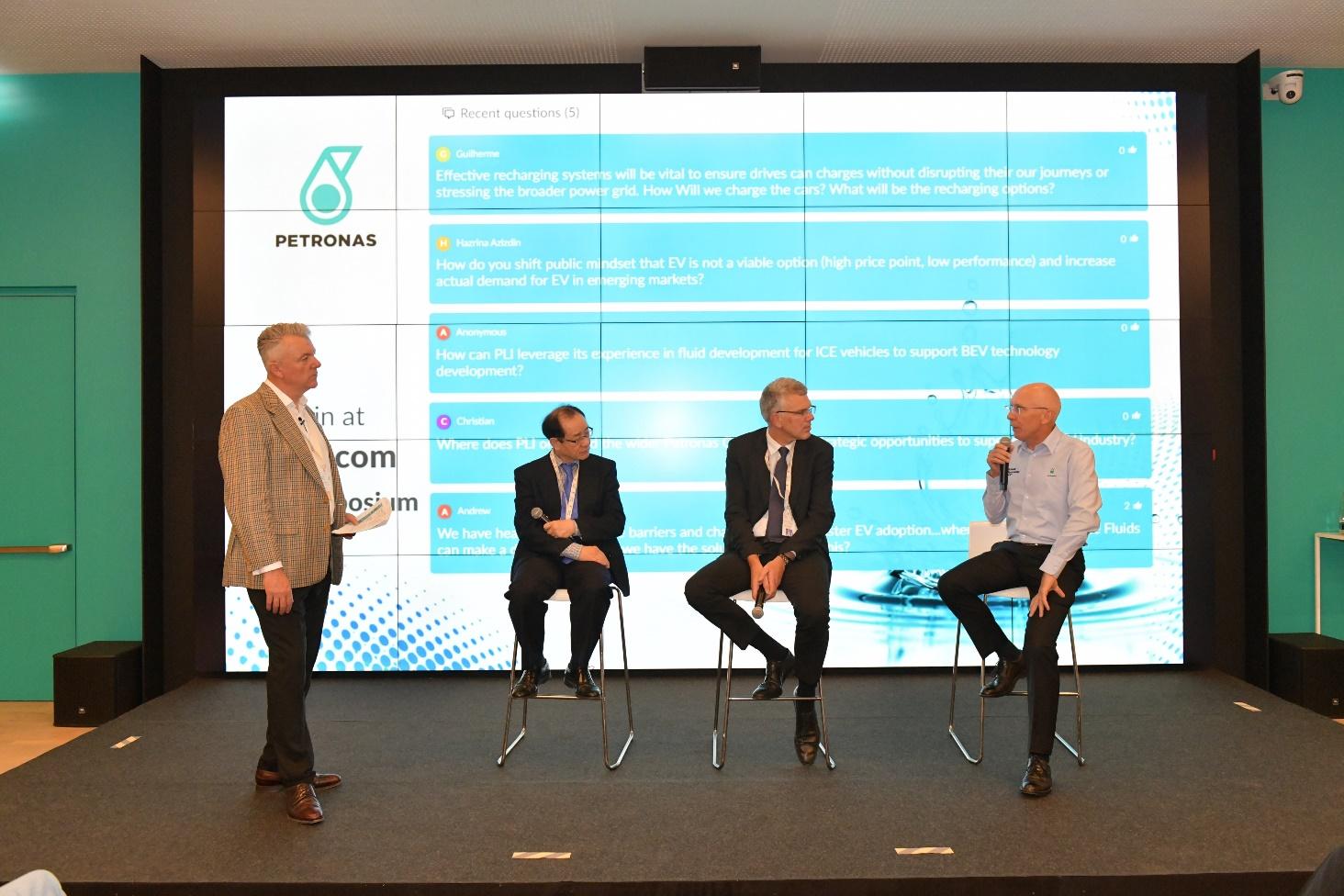 马石油润滑油国际首次电动车油液技术发展论坛成功举办