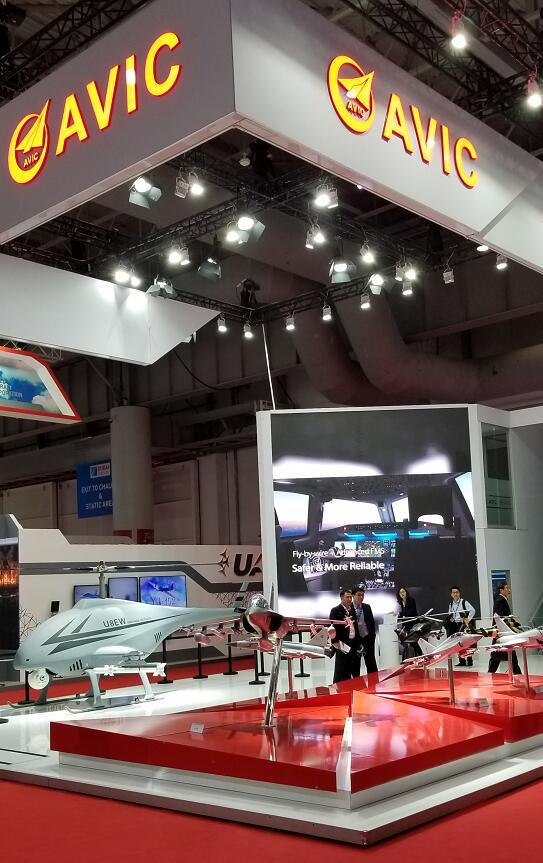中航工业第六次亮相迪拜航展 重点展示无人机