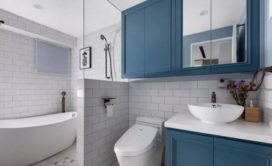 简单又方便的卫生间装修设计图
