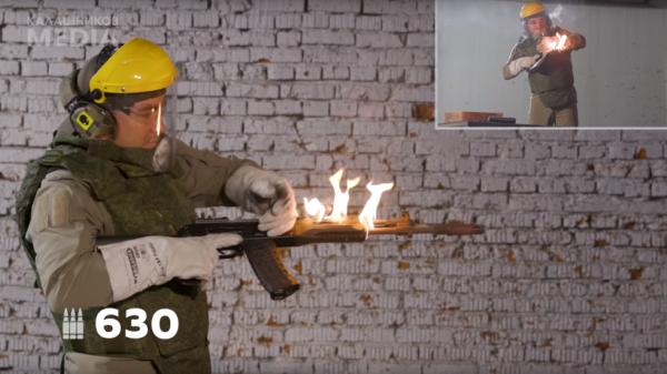 俄罗斯暴力测试AK12步枪:报废前连射680发子弹