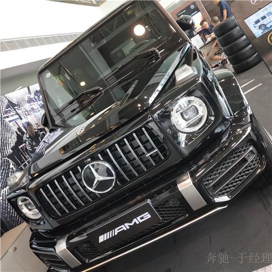 2019款奔驰G63现车报价 G63英雄飒爽气度非凡