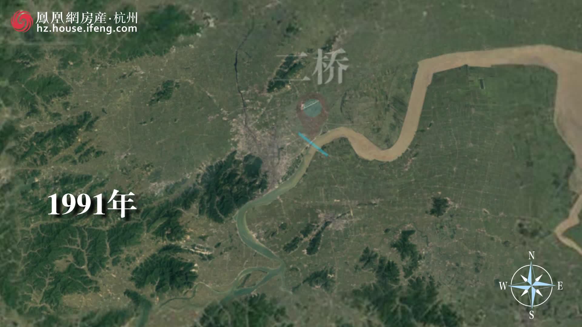 杭州城市变迁