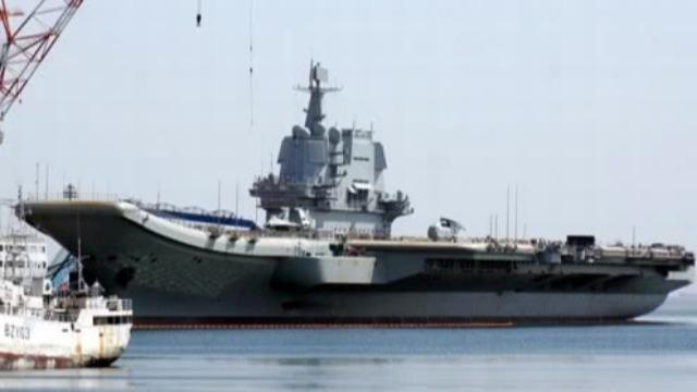 国产航母刚离开台湾海峡 台军就有大动作