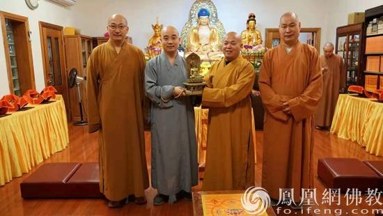 三国佛教界代表签署《中澳新三国佛教论坛筹备工作备忘录》