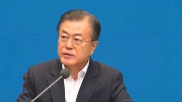 美韩总统通话谈与朝鲜关系 同意对话推动朝核谈判