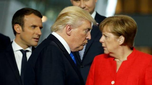 被北约盟友气走?特朗普拒参加发布会直接飞回美国