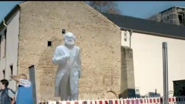 揭秘:中国送给德国的马克思雕像高度为何设定成5.5米?
