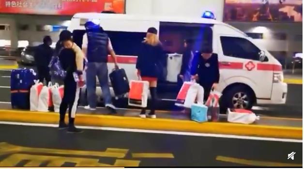 上海机场回应接机