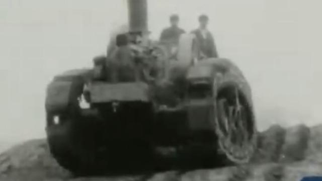 """坦克首秀震撼世界 """"装甲巨兽""""从此遍地开花!"""