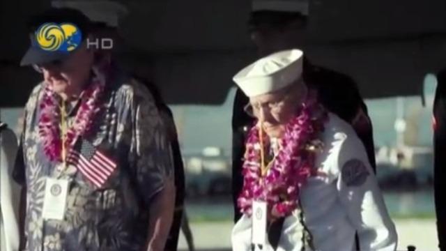 日军偷袭珍珠港78周年纪念仪式举行 幸存者出席悼念