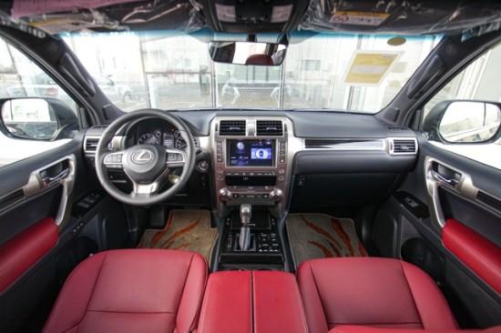 2020款雷克萨斯GX460 裸车最多优惠成交