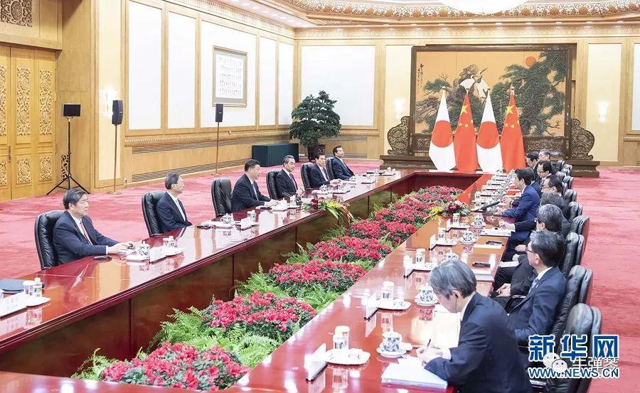 與日韓領導人這兩次會見,有三個很微妙的細節