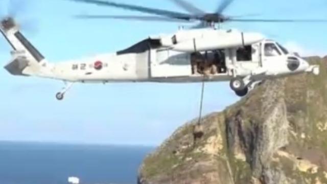 """韩国举行今年第二次独岛防御演习 规模大""""缩水"""""""