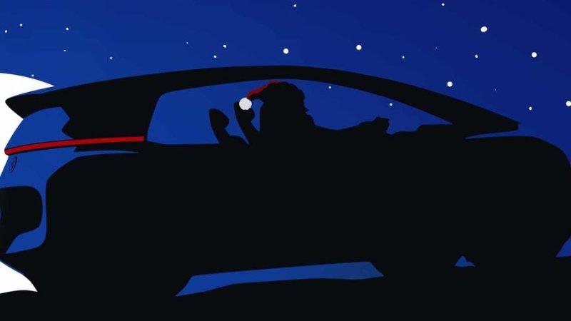 大眾汽車將新車草圖藏于圣誕賀卡片
