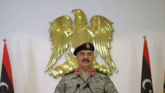 """局势紧张! 利比亚国民军领导人斥土耳其""""宣战"""""""
