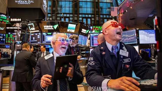 美股完美收官:标普年涨29% 法股市涨幅创20年新高