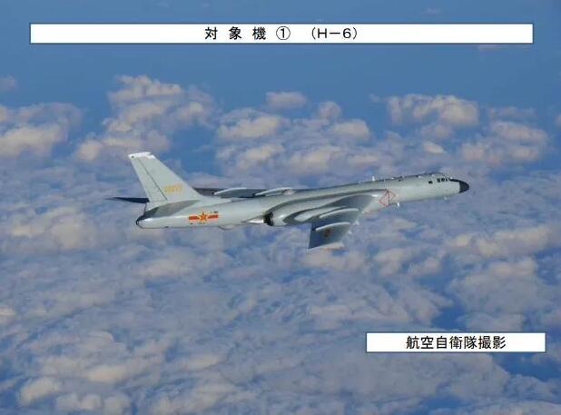 图为本次中俄空中联合战略巡航中的中国轰6K轰炸机
