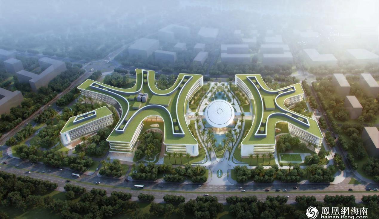 博鳌研究型医院建筑模型