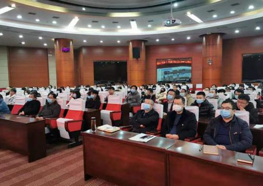 九江学院校长刘晓东为全校辅导员作党的十九届五中全会精神专题辅导报告