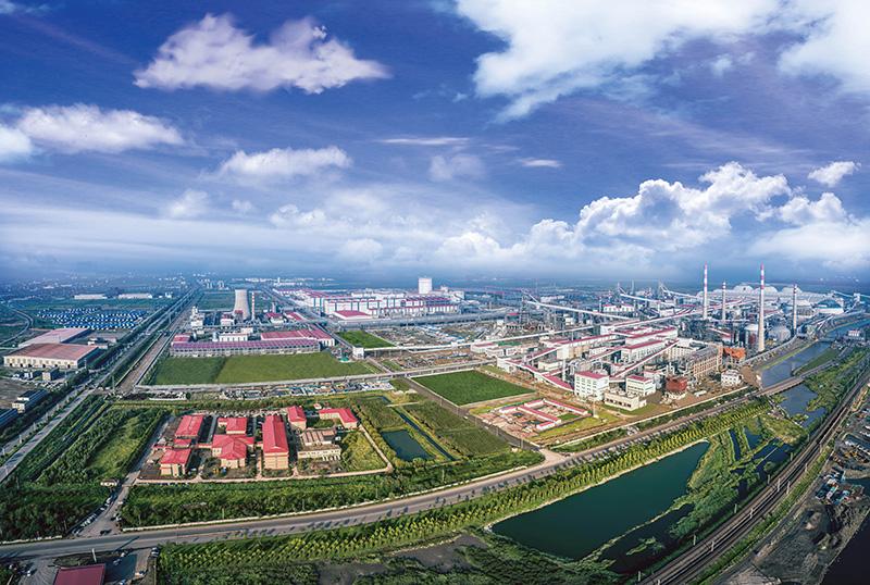 河钢唐钢新区厂区全景