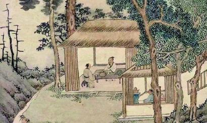 ◆文征明 品茶图