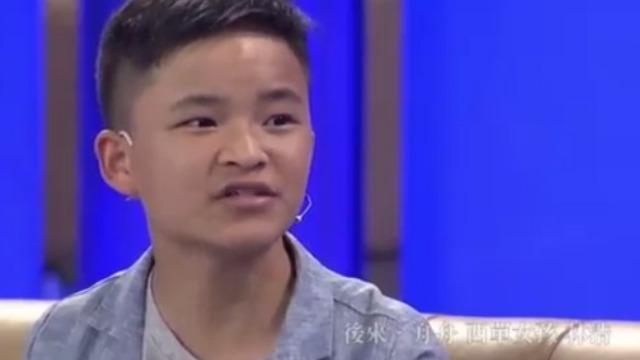 小英雄林浩做客鲁豫有约 自曝长大后最想当演员!