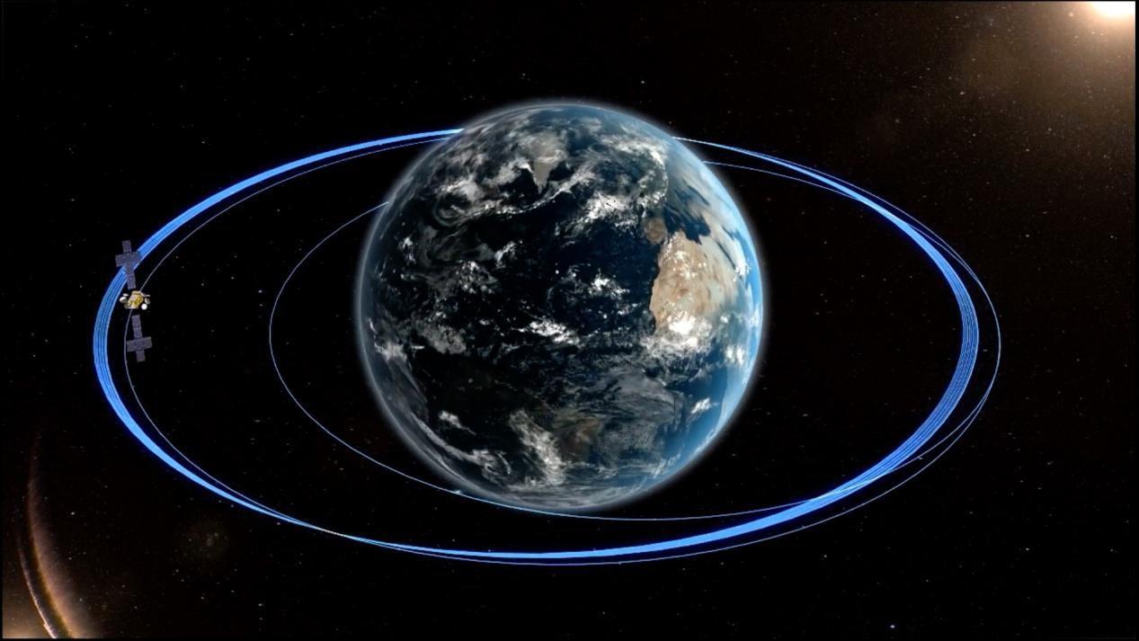 實踐二十號衛星成功定點 東方紅五號衛星公用平臺首飛成功
