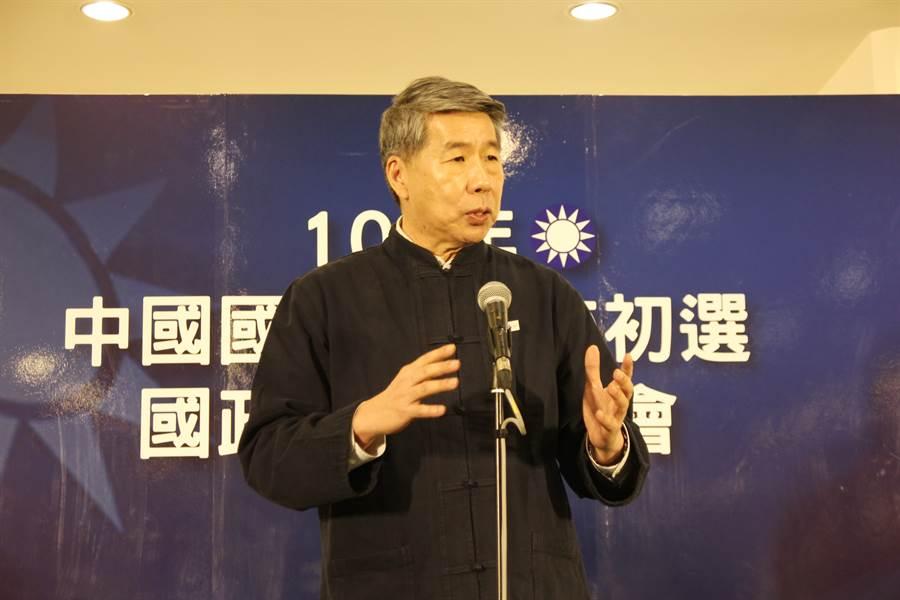张亚中宣布参选中国国民党主席