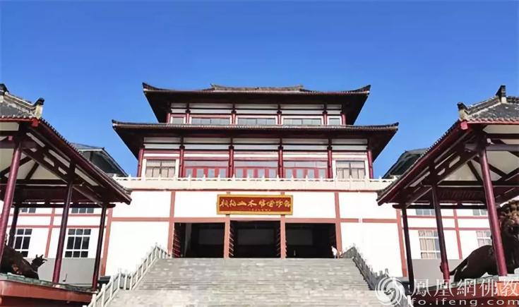 桐柏山木雕博物馆(图片来源:凤凰网佛教 摄影:桐柏山木雕博物馆)