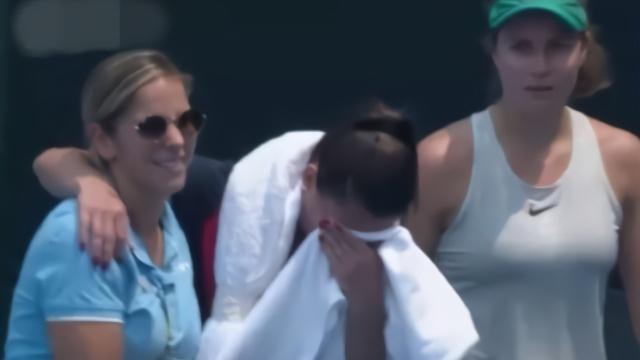 澳洲污染爆表 澳网选手剧烈咳嗽痛苦跪地退赛