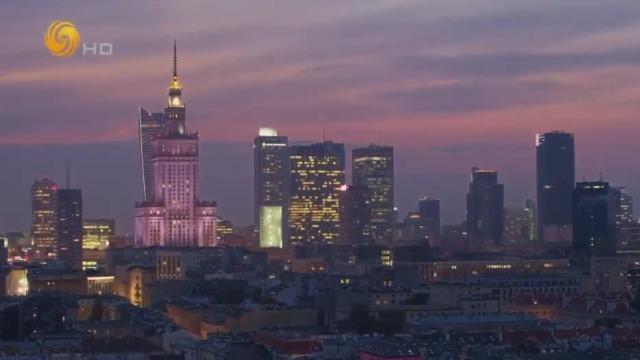波兰华沙的新城区长什么样子?仅有几栋摩天大楼