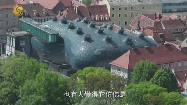 """建筑大师的奇思妙想被技术限制 但如今""""外星建筑""""盖成"""