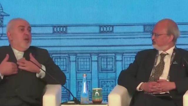 """伊朗外长:德黑兰大规模示威因""""谎言""""而起"""