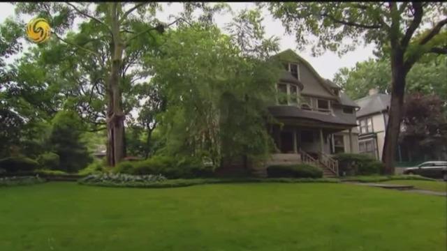 """美国19世纪的人们住房有啥特点?景观设计设是""""网红"""""""