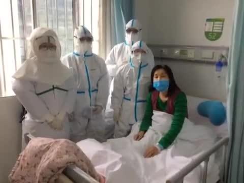 好消息!武汉一新冠肺炎感染者出院