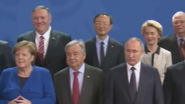 利比亚和平会议同意贯彻武器禁运促和平 多国领导人参加