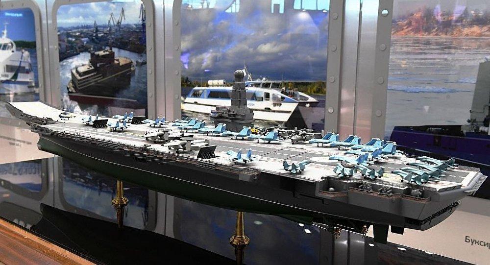 """俄专家:""""库""""舰还能用很久 新建航母部署太平洋"""