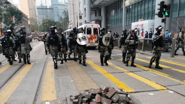 世界警察可靠度排名:港警远胜美国警察