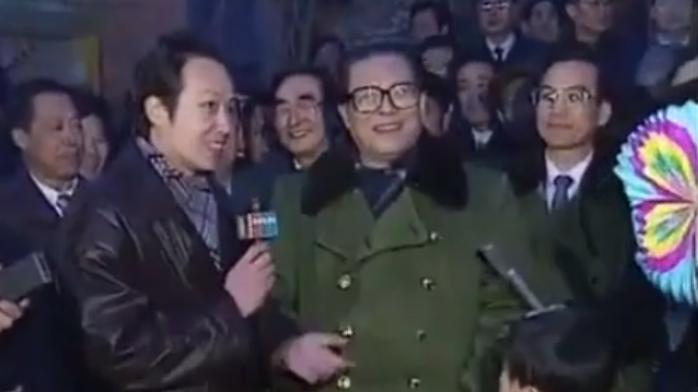 1993年春晚 江泽民通过央视连线慰问人民群众