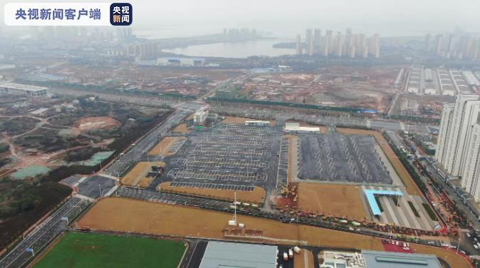 奋战武汉雷神山:中国建筑与时间赛跑