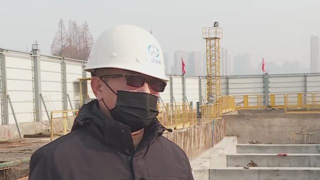 疫情防控攻坚 武汉地铁工程建设受阻