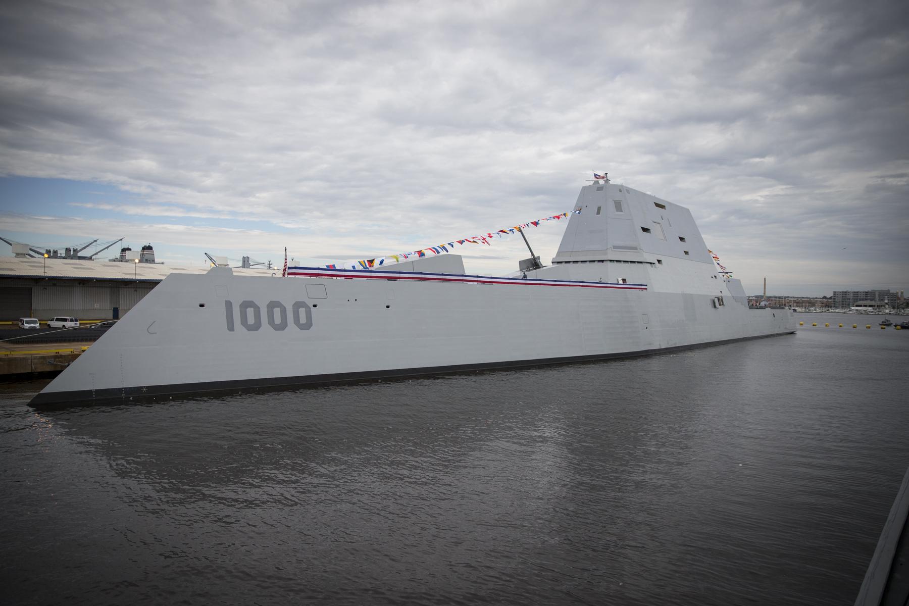 """驻日美军启动高压""""充电桩"""" 迎接DDG1000进驻"""